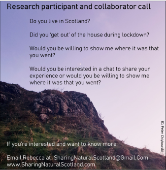 Research call 6 Salisbury crags Aug 31st