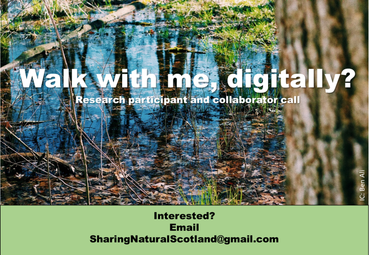 walk with me digitally call 28th OCt